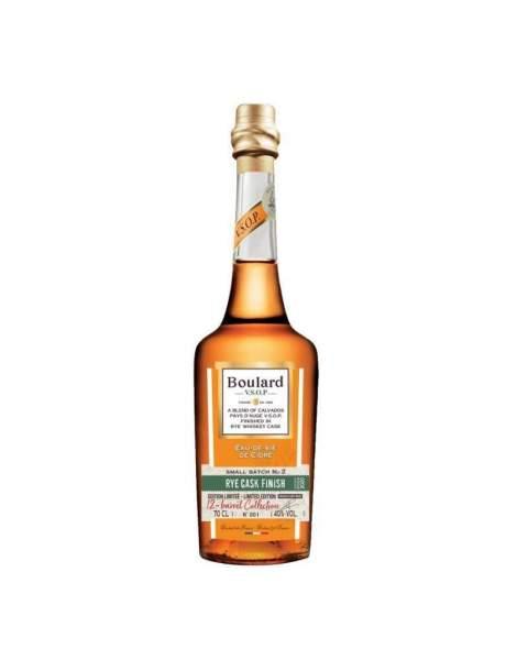 Calvados VSOP Rye Whisky cask finish Boulard 40% 70cl