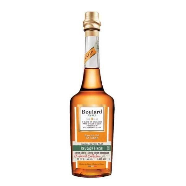 Calvados VSOP Rye whisky cask finish Boulard 44% 70cl