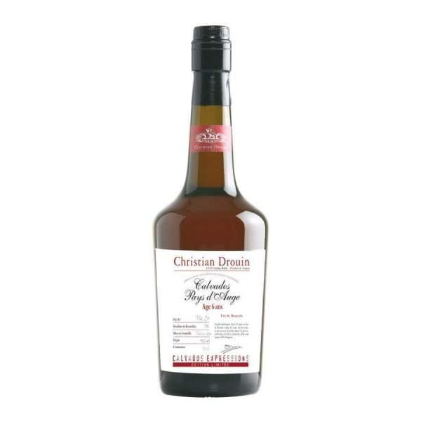 Calvados fût de Pommeau 6ans Drouin 45% 70cl