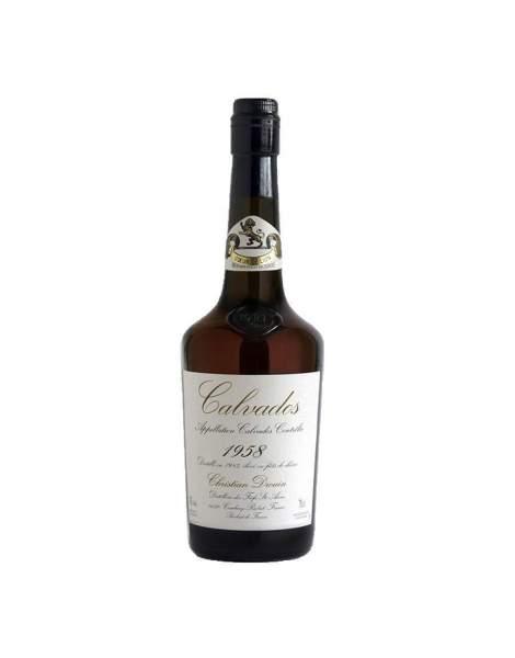 Calvados millésimé 1958 Drouin 70cl 42%