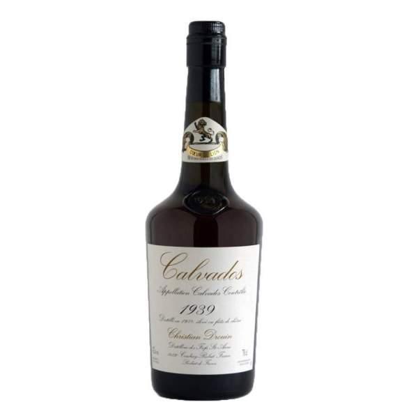 Calvados millésimé 1939 Drouin 70cl 42%