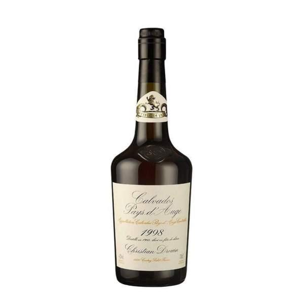 Calvados millésimé 1998 Drouin 70cl 42%