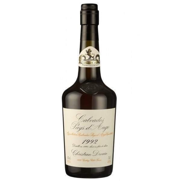 Calvados millésimé 1992 Drouin 70cl 42%