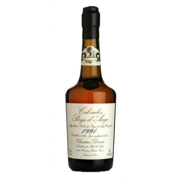 Calvados millésimé 1991 Drouin 70cl 42%