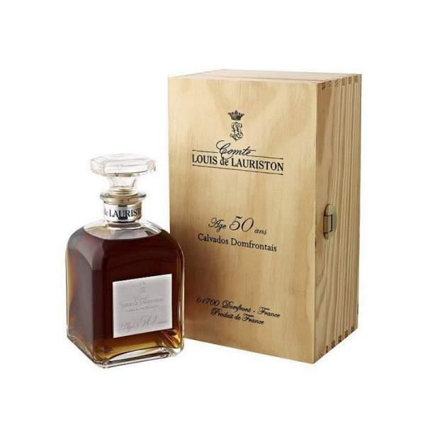 Carafe Calvados 50 ans Lauriston 70cl 42%