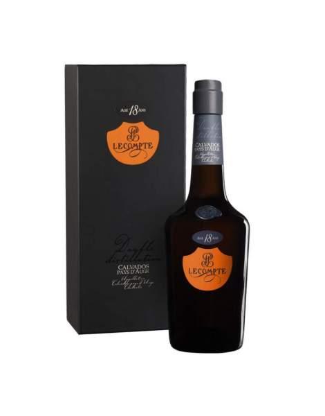 Calvados 18 ans Lecompte 70 cl 40%