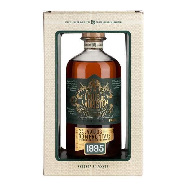 Calvados millésimé 1995 Lauriston 70cl 42%