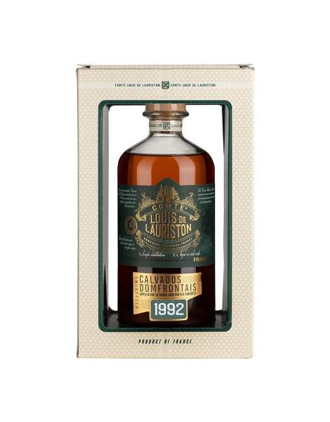 Calvados millésimé 1992 Lauriston 70cl 42%