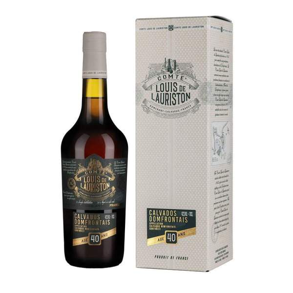 Calvados 40 ans Lauriston 70cl 42%