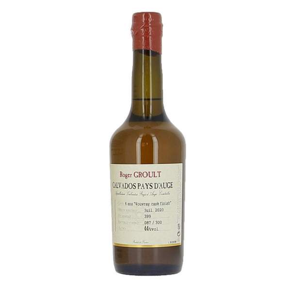 Calvados Vouvray cask finish 6ans Groult 46% 50cl