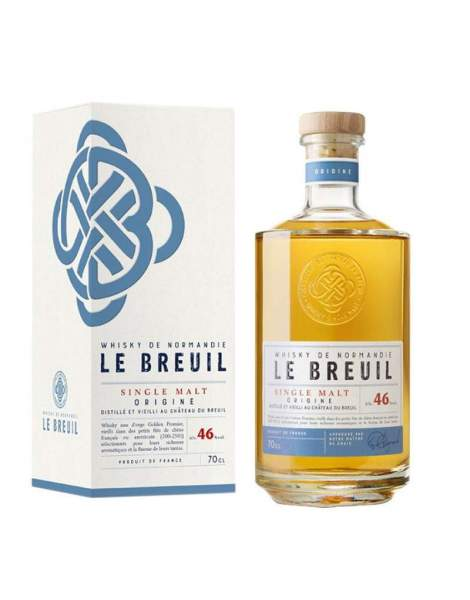 Whisky Origine - Breuil 46% 70cl
