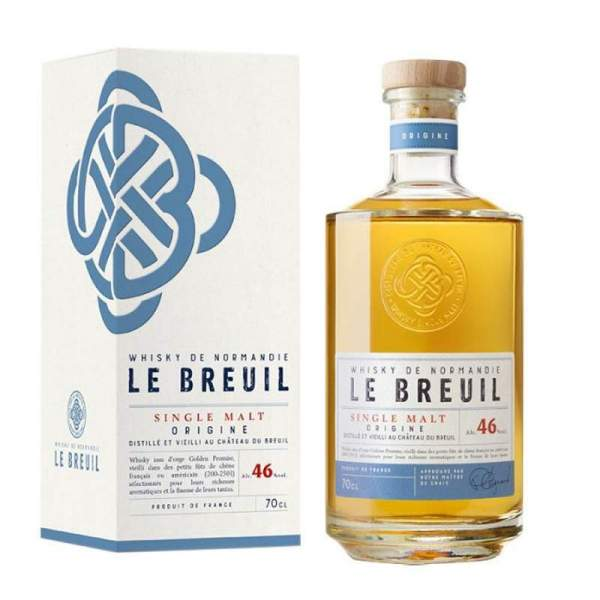 Whisky Origine - Breuil 46% 70cl