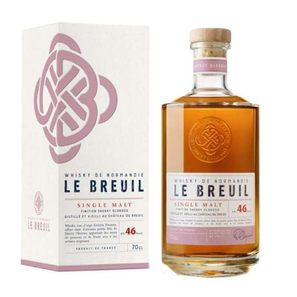 Whisky finition Sherry Oloroso - Breuil 46% 70cl