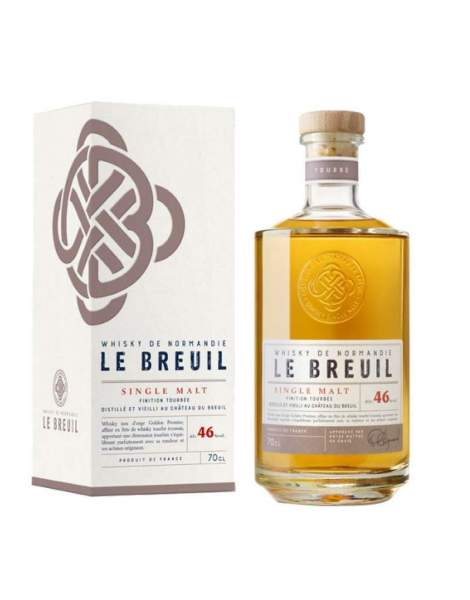 Whisky finition tourbée - Breuil 46% 70cl