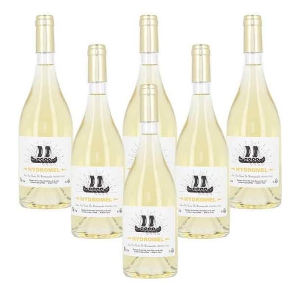 Hydromel doux - Vin de miel - lot 6*75cl 13.5%