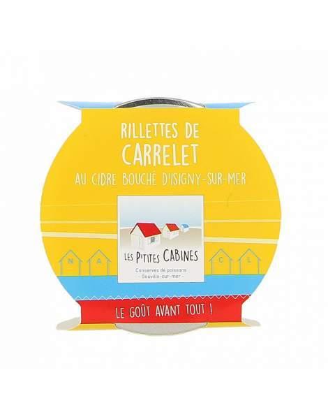 Rillettes de carrelet au cidre bouché - Les p'tites cabines 90g