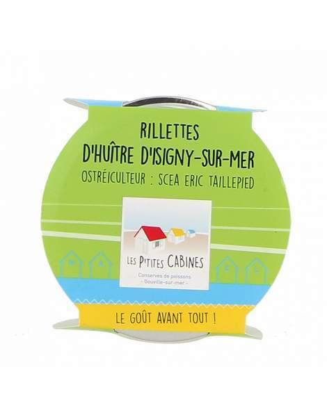 Rillettes d'huitre d'Isigny sur mer - Les p'tites cabines 90g