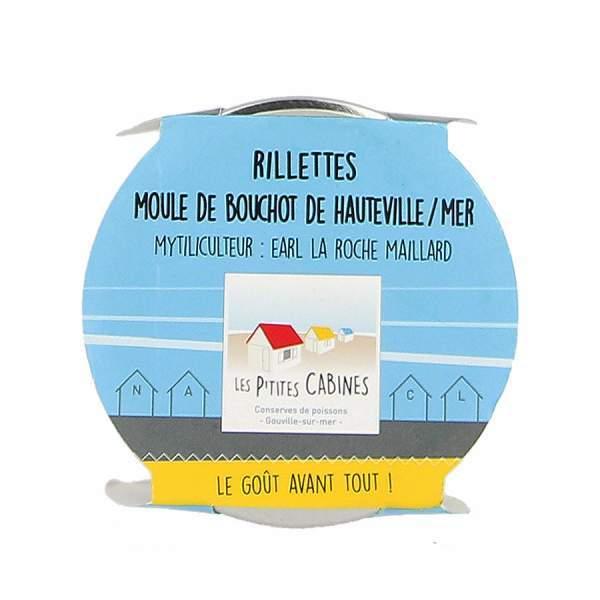 Rillettes de moules de Bouchot de Hauteville/mer - Les p'tites cabines 90g