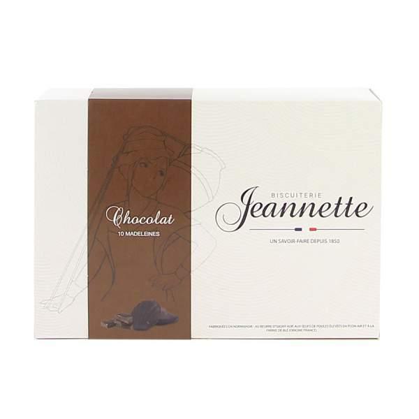 "Madeleines au chocolat ""Theobroma"" 200g Jeannette"