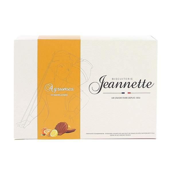 "Madeleines aux agrumes ""Hespérides"" 200g Jeannette"