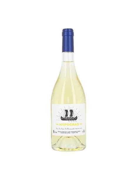 Vin hypocras blanc 75cl 13.5%