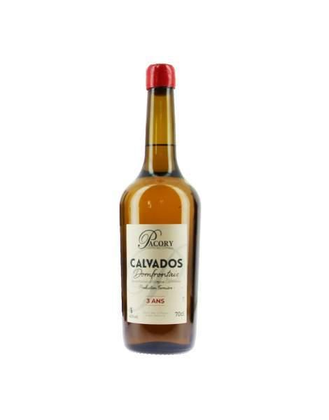 Calvados Pacory 3 ans 42%vol 70cl
