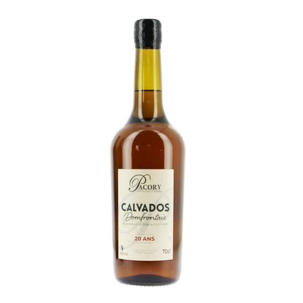 Calvados Pacory 20 ans 40%vol 70cl