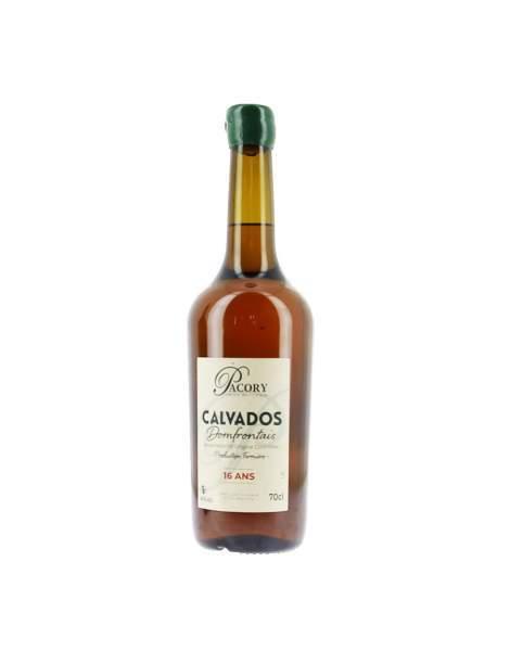 Calvados Pacory 16ans 40%vol 70cl