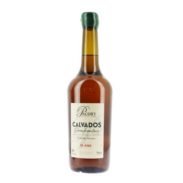 Calvados Pacory 16 ans 40%vol 70cl