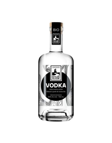 Vodka de raisins bio Distillerie de la Seine 70cl 40%