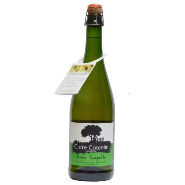 Cidre du Cotentin Extra Brut Gros Beire Théo Capelle
