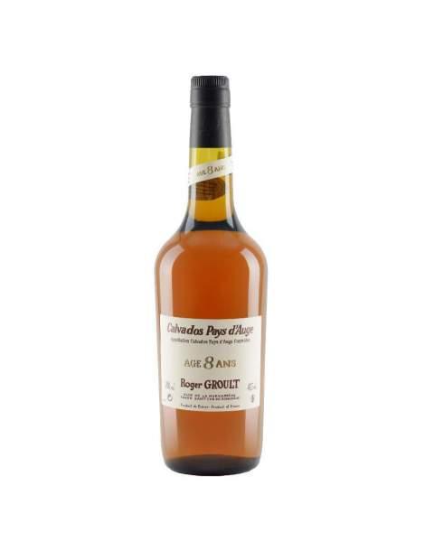 Bouteille de Calvados Roger GROULT 8 ans d'âge