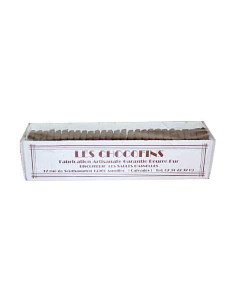 Les chocofins des sablés d'Asnelles (Calvados)