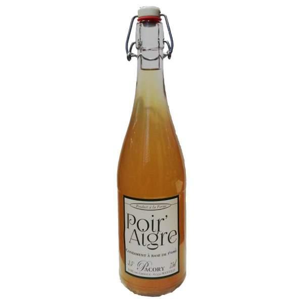 Poir'Aigre vinaigre de poire Pacory bouteille 75cl