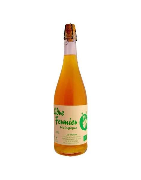 Cidre Brut Fermier BIGNON 75cl - 4,5%vol