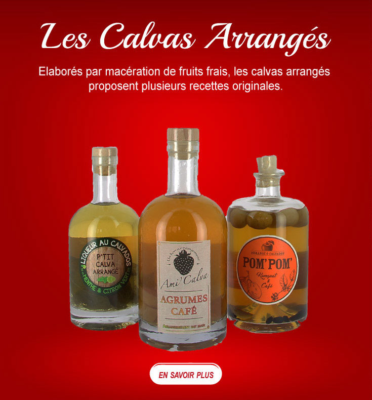 Les Calvados arrangés