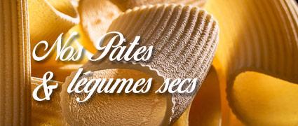 Découvrir toutes les pâtes et légumes secs de Normandie