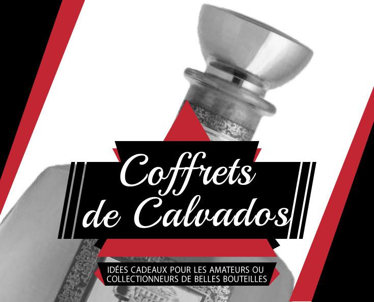 Offrez une jolie carafe et coffret de Calvados
