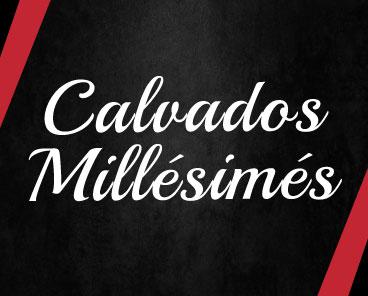 Calvados millésimés