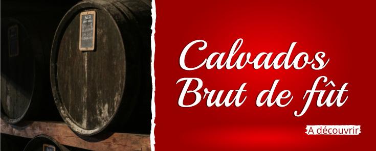 Calvados brut de fût