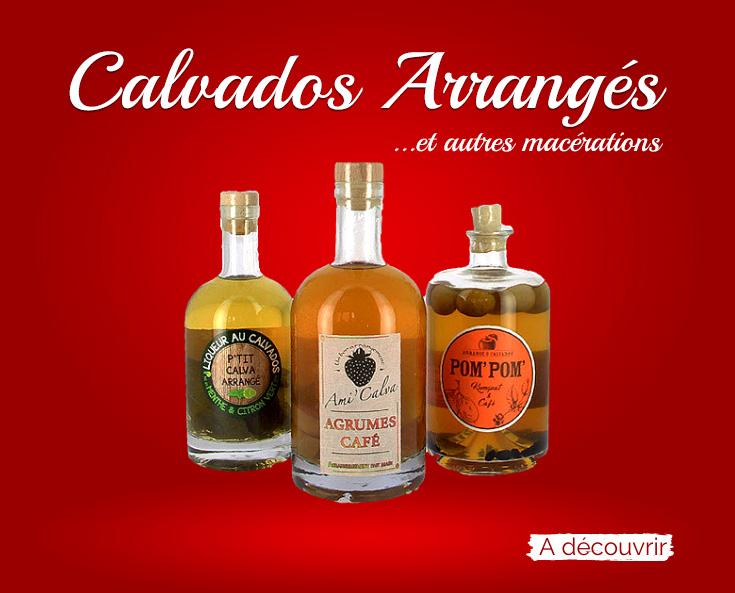 Calvados arrangés et autres macérations