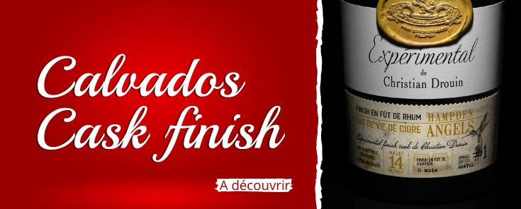 Calvados cask finish