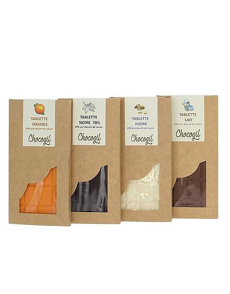 Découvrir tous nos chocolats de Normandie
