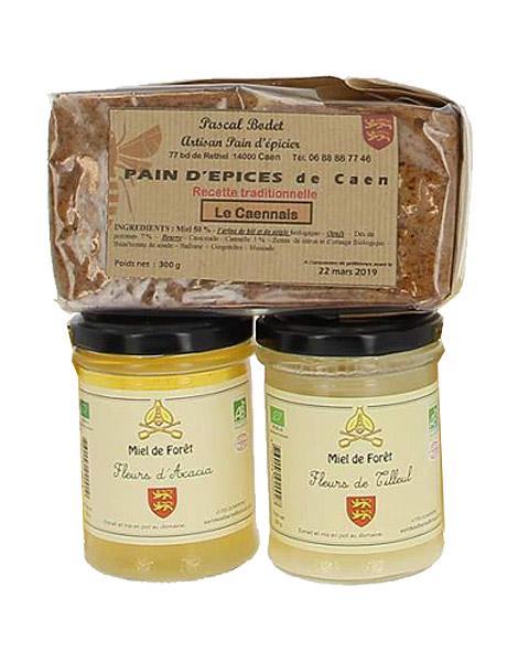 Découvrir tous nos miels & pains d'épices artisanaux de Normandie