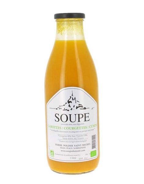 Découvrir toutes nos soupes artisanales, fermieres de Normandie