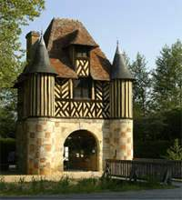 Château de Crèvecoeur en Auge