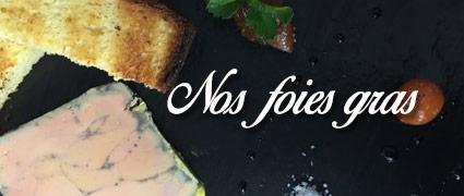 Découvrez nos foies gras artisanaux de Normandie