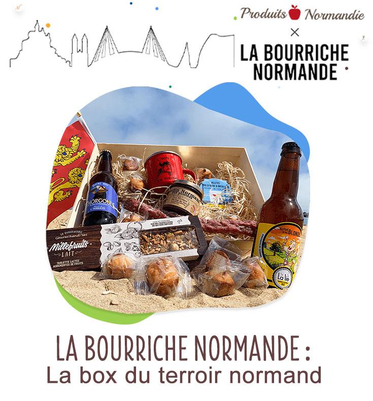 En partenariat avec la bourriche normande tentez de ganger une box de produits artisanaux normands