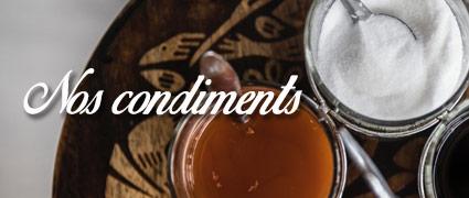 Découvrez tous nos condiments artisanaux de Normandie