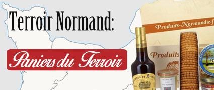 sélection de paniers garnis Normand par thématiques